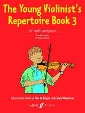 The Young Violinist's Repertoire, Bk 3:  Score