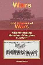 Wars and Rumors of Wars