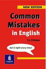 Common Mistakes in English New Edition