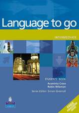 Language to Go. Intermediate Students' Book with Phrasebook