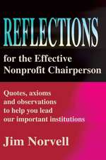 Reflections for the Effective Nonprofit Chairperson