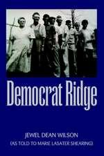 Democrat Ridge