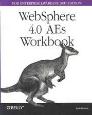 Websphere 4.0 AES Workbook for Enterprise Java Beans:  The Definitive Guide