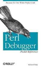 Perl Debugger Pocket Reference
