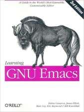 Learning GNU Emacs 3e