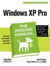 Windows XP Pro: The Missing Manual 2e