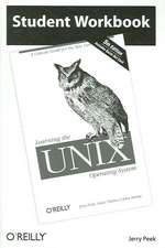 Learning the Unix Operating System:  Student Workbook