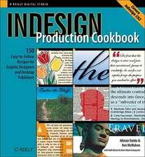 Indesign Production Cookbook