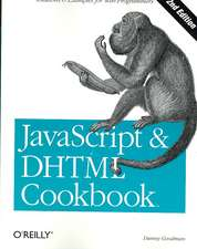 JavaScript and DHTML Cookbook 2e