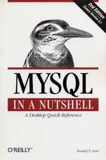 MySQL in a Nutshell 2e