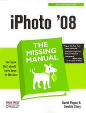 iPhoto '08:  The Missing Manual