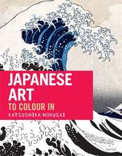 Japanese Art: The Colouring Book
