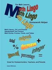 Math Lingo Homework Helper