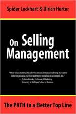 On Selling Management