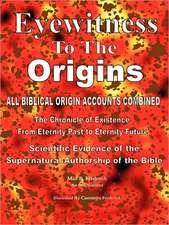 Eyewitness to the Origins Third Edition