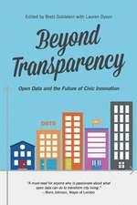 Beyond Transparency