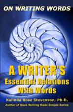 On Writing Words