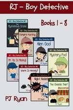 Rj - Boy Detective Books 1-8