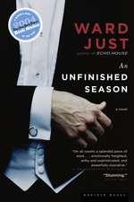 An Unfinished Season: A Novel