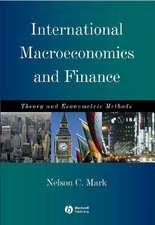 International Macroeconomics and Finance: Theory and Econometric Methods