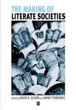 The Making of Literate Societies