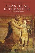 Classical Literature: A Concise History