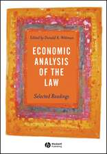 Economic Analysis of the Law: Selected Readings