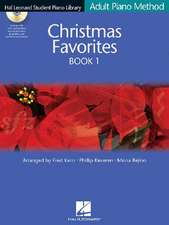 Christmas Favorites Book 1 Adult Piano Method [With CD]