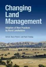 Changing Land Management:  Adoption of New Practices by Rural Landholders