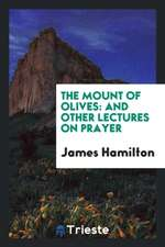 The Mount of Olives: And Other Lectures on Prayer