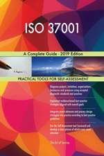 ISO 37001 A Complete Guide - 2019 Edition