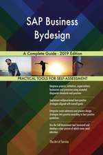 SAP Business Bydesign A Complete Guide - 2019 Edition