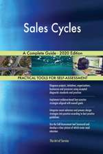 Sales Cycles A Complete Guide - 2020 Edition