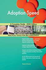 Adoption Speed A Complete Guide - 2020 Edition