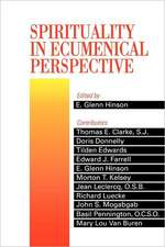 Spirituality in Ecumenical Perspective:  Stories of People Who Made a Difference