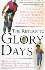 The Return to Glory Days:  Aligning Body, Mind, and Spirit to Honor the Healer Within