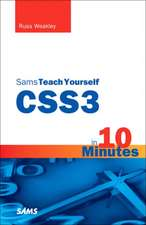 Sams Teach Yourself CSS3 in 10 Minutes