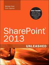 Sharepoint 2013 Unleashed:  Covers OS X, Linux, and Solaris
