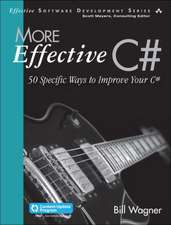 More Effective C# (Covers C# 6.0) (Includes Content Update Program)