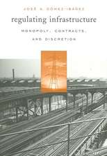 Regulating Infrastructure – Monopoly, Contracts and Discretion