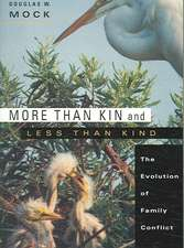 More Than Kin and Less Than Kind – The Evolution of Family Conflict