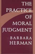 The Practice of Moral Judgement (Paper)