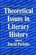 Theoretical Issues in Literary History (Paper)