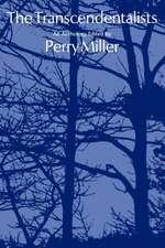 The Transcendentalists – An Anthology