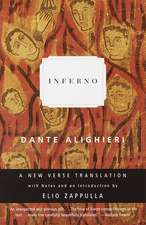 Inferno:  A New Verse Translation