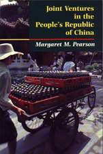 Joint Ventures in the People`s Republic of China – The Control of Foreign Direct Investment under Socialism