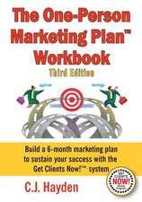 The One-Person Marketing Plan Workbook