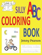 Silly ABC Coloring Book