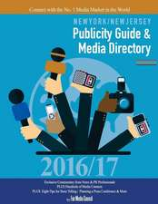 New York/New Jersey Publicity Guide & Media Directory 2016-17