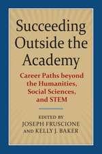 Succeeding Outside the Academy